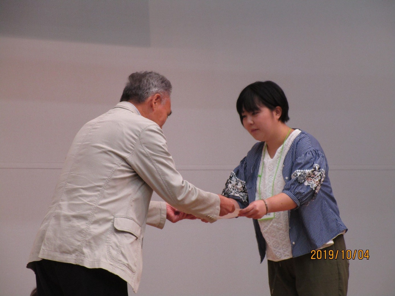 家族会総会俳句大会授賞式